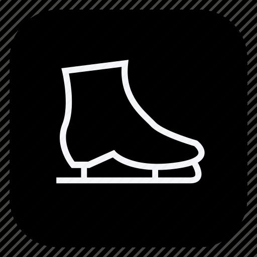 game, gym, healthcare, ice skates, skates, sport, sports icon