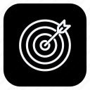 aim, game, gym, healthcare, sport, sports, target icon