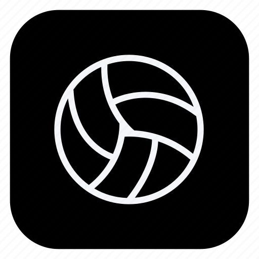 ball, bolleyball, game, gym, healthcare, sport, sports icon