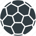 ball, football, soccer ball, sport, sports equipment icon