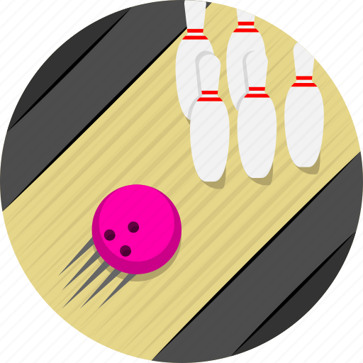 Bowling, bowling ball, bowling pin, game, spare, sports, strike icon - Download on Iconfinder