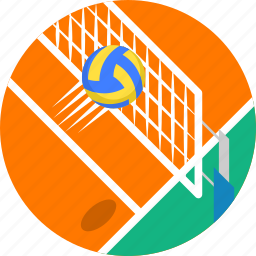ball, net, olympics, sports, volley, volleyball, volleyball net icon
