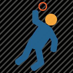 ball, ballthrow, game, health, olympic, olympics, sports icon