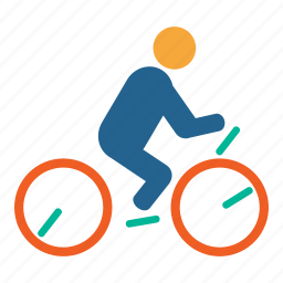 bicycle, biking, fitness, game, health, olympic, sports icon