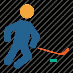 games, hockey, ice, icehocking, olympics, play, sports icon