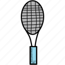 ball, racket, tennis icon
