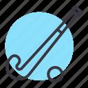 ball, equipment, game, hockey, play, sports, stick icon