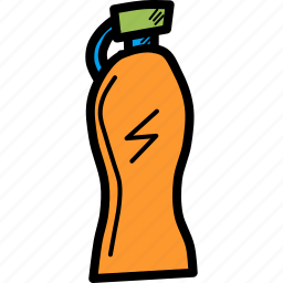 bottle, drink, fitness, refresh, sipper, sports, water icon