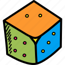 casino, dice, gamble, gambling, game, luck, roll icon