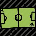 field, football, game, ground, soccer, sport, stadium icon