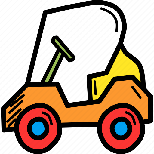 car, cart, electric, golf, sports, transport, vehicle icon
