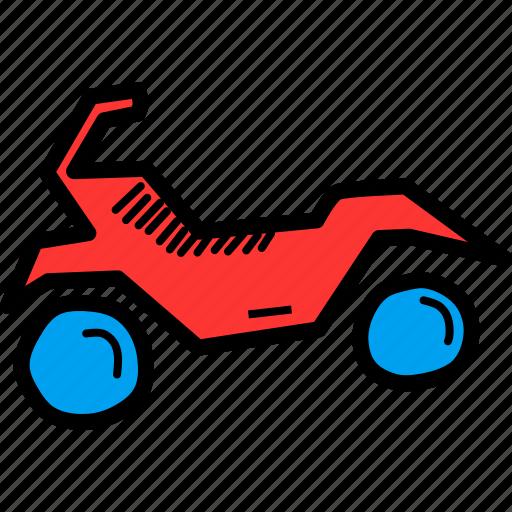 adventure, bike, mountain, olympics, quad bike, ride, sports icon
