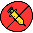 banned, drug, hormone, no, pill, prohibited, steroid icon