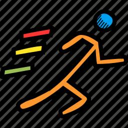 athletics, marathon, olympics, race, run, running icon