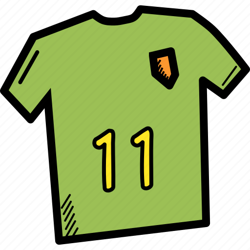 football, game, jersey, sport, sports, team, wear icon