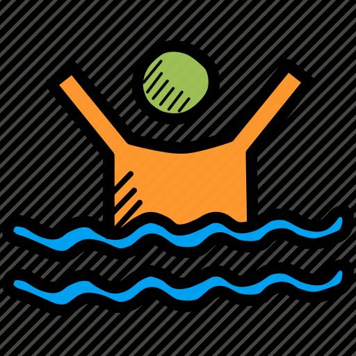 activity, exercise, olympics, pool, swim, swimming, water icon