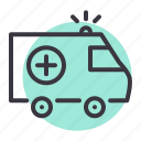 ambulance, care, emergency, health, healthcare, medical, medicare icon