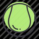 ball, baseball, game, play, sports, tennis icon
