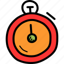 clock, count, stopwatch, time, timer, watch icon