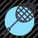 badminton, game, play, racket, racquet, shuttle, sports icon