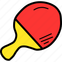 bat, hit, olympics, paddle, pingpong, table, tennis icon