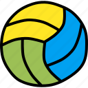 ball, game, olympics, play, sport, volleyball icon