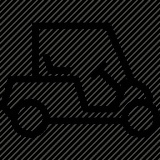 cart, dune buggy, electric golf cart, golf car, golf cart icon