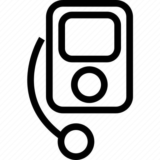 ipod, media, multimedia, music, nano, player icon