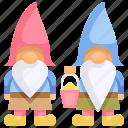 adornment, decoration, folklore, garden, gnome