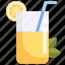 beverage, juice, lemon, lemonade, refresh icon
