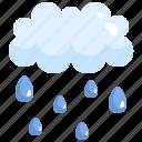 haw, meteorology, nature, rainy, sky, weather icon