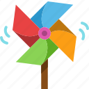 pinwheel, toy, kid, windmill, wind