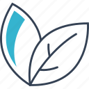 flower, sheet, spring icon