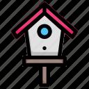 bird, home, house, spring icon