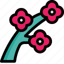 blossom, flower, nature, spring icon