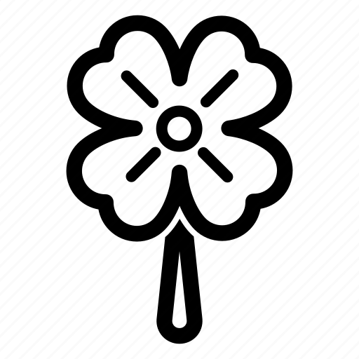 Clover, four, leaf, luck, lucky icon - Download on Iconfinder