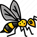 apitherpy, bee, bug, honey, honeycomb, insect, nature icon