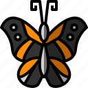 bug, butterfly, fly, insect, nature, spring icon