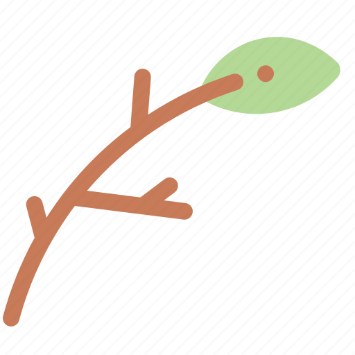branch, leaf, nature, plant, tree icon