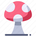 food, forest, mushroom, plant, poison icon