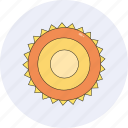 forecast, season, sky, spring, summer, sun, sunny icon