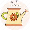 flower, funnel, garden, spring, water icon