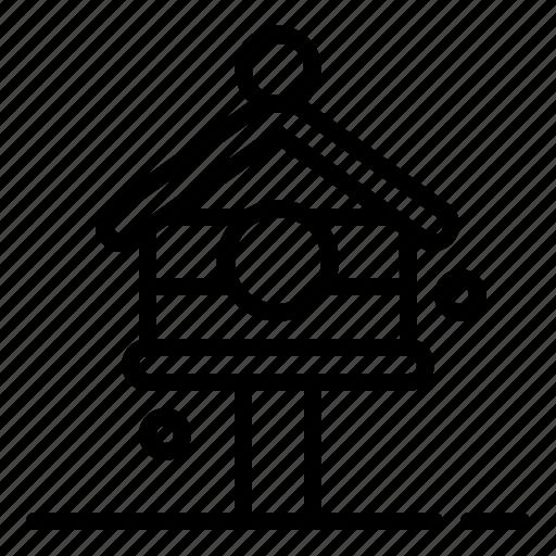 bird, bird house, birdhouse, house, nature, ornithology icon