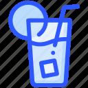 beverage, drink, ice, lemon, tea