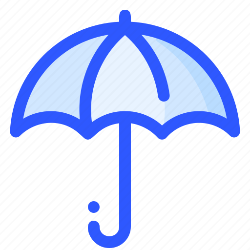 insurance, protection, rain, sunny, umbrella icon
