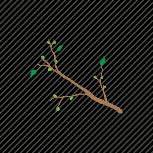 branch, cartoon, plant, season, sign, spring, tree icon