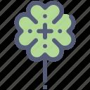 clover, garden, lucky, nature, spring icon
