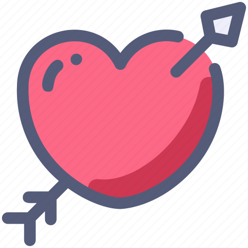Arrow, cupid, heart, love icon - Download on Iconfinder