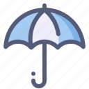 insurance, protection, rain, sunny, umbrella