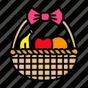 basket, food, fruit, garden, natural